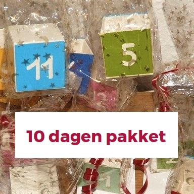 Kraammand 10 dagen pakket 15 items inspiratie