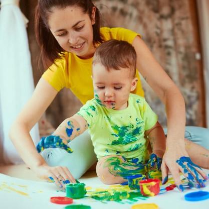 Papa Cadeau: Verjaardag/ Vaderdag knutselen babys