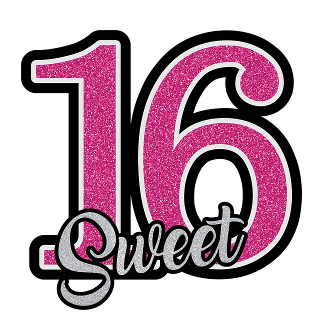 10x Sweet sixteen cadeau voor 16 jarige meiden